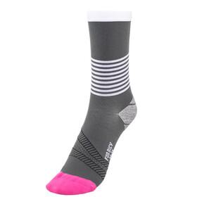 FOR.BICY Ring Master Socks Women Grey/White/Pink